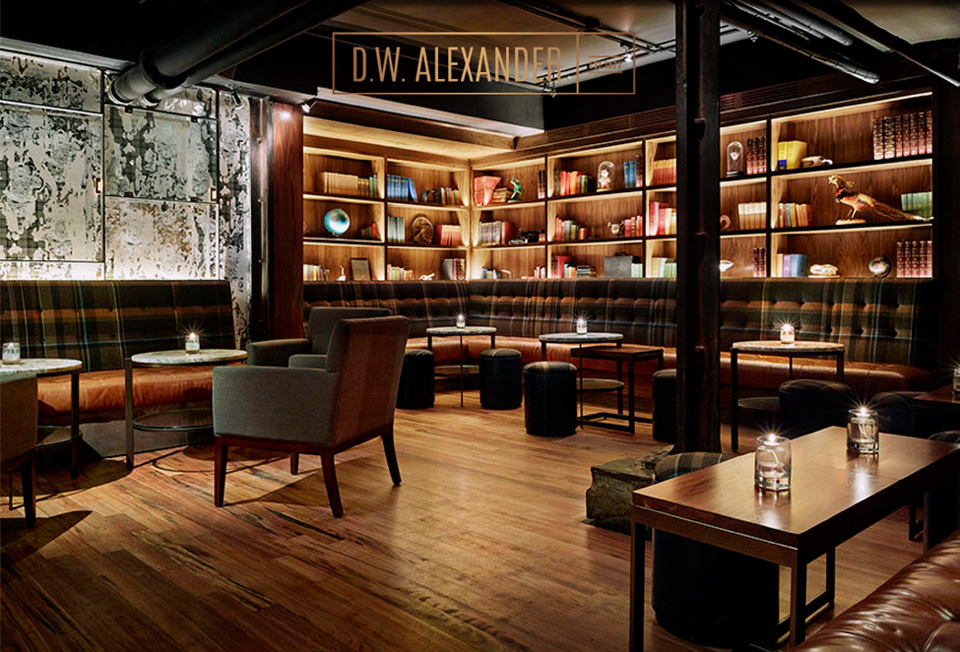 D.W.Alexander – One of the Best Lounges in Toronto 2017